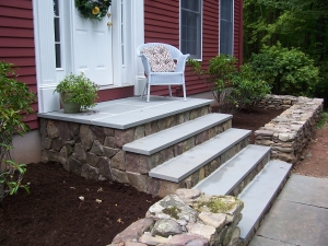 Improved Entryway and Stairs
