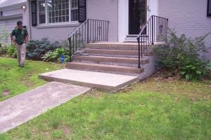 Refaced Stairway